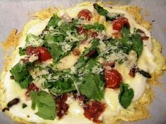 Specific Carbohydrate Diet For Life: SCD Recipe: Grilled Chicken Pizza with Cauliflower White Sauce
