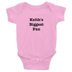 Keith's Biggest Fan - Onesie