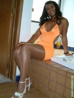 Ebony babes in pantyhose