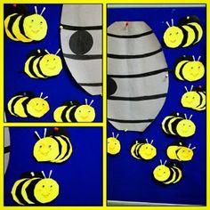 97 Best Bee Craft Idea Images Day Care Preschools Bee Crafts