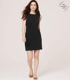 Image of Textured Sheath Dress