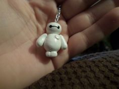 Baymax Keychains and Phone Charms by FabtabulousFabgen on Etsy Cute Polymer Clay, Cute Clay, Fimo Clay, Polymer Clay Charms, Polymer Clay Creations, Baymax, Big Hero 3, Hero 6, Clay Projects