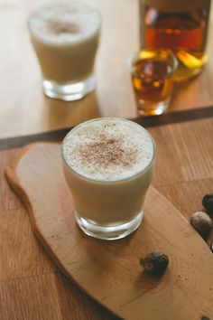 [ Recipe for and Info on Eggnog ] Read George Washington's own recipe too, complete with the suggestion: Taste frequently. ~ from Brian Samuels at The Boys Club