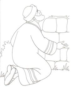 abraham offers isaac coloring page patriarchs