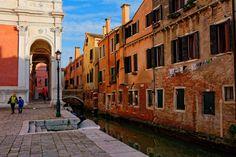 Venice : San Rocco / Campo de Casteforte / Rio de la Frescada