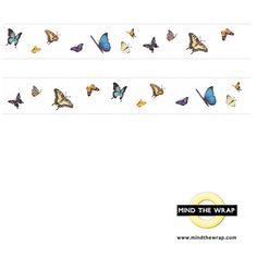 mt Butterflies Washi Tape  Wide 30mm x 10m   by MindtheWrap