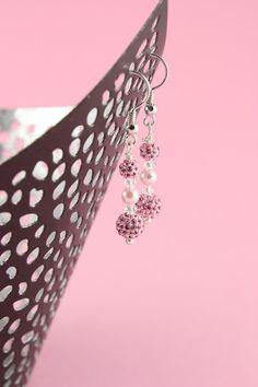 Perlenohrringe - Ohrschmuck Louisa - Braut - ein Designerstück von greta_mar bei DaWanda