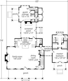 charming plans, master suite has closet on the way to the bathroom, just as  it should be