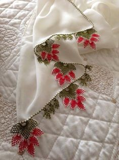 Crochet Borders, Needle Lace, Table Covers, Embroidery Stitches, Christmas Stockings, Holiday Decor, Design, Cross Stitch, Silk