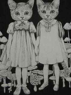 higuchiyuko: ヒグチユウコ画 きのこ展出品作品 2012年