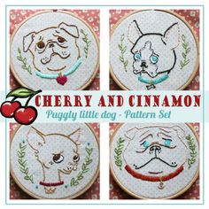 Паггля маленьких собачек БТ cherryandcinnamon.com