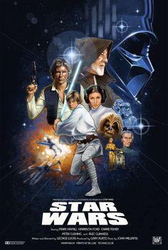 Star Wars by Creator Mo Caró