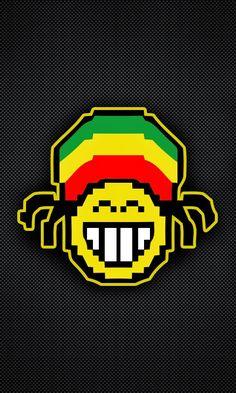 Reggae Music, Fun Art, Cool Art, Emoji Symbols, Neon Words, Weed Art, Black Power, Bob Marley, Tatoo