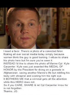 Marine Cpt. Kyle Carpenter