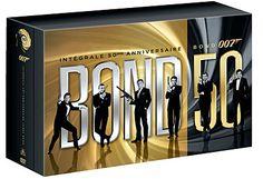 Coffret intégral des 22 films - Blu-Ray - 50ème Anniversaire - Edition Limitée