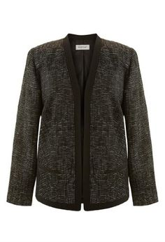 Avenue Plus Size Tweed Shimmer Blazer