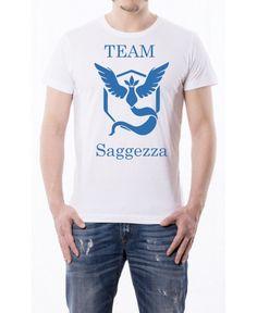 T Shirt Pokemon - Team Saggezza