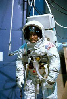 January 19, 1970 — Apollo 13 astronaut Fred Haise trains for a spacewalk on lunar surface, an adventure prevented by an infamous accident on the way to the Moon.