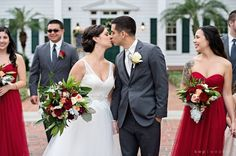 Cypress Grove Estate House: Robin and Cesar's Rustic Chic Wedding | Kristen Weaver Photography |