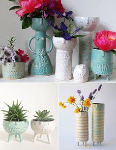 Faceplanters | Atelier Stella Garden Ideas, Planter Pots, Sweet Home, Flowers, Plants, Diy, Design, Home Decor, Products