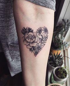 Amazing Flower Tattoo Design Ideas 37 #TattooIdeasFlower