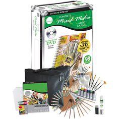 Simply Complete Mixed Media Artist Studio 98-piece Set $19.97
