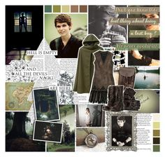 """Peter Pan"" by saffire9975 ❤ liked on Polyvore featuring Sarah Jessica Parker, Once Upon a Time, Seed Design, The Damned, Derek Lam and AllSaints"