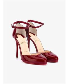 CHRISTIAN LOUBOUTIN - Tango Alto 100 Patent Leather Pumps