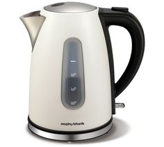 ** Morphy Richards Accents Jug Kettle - White