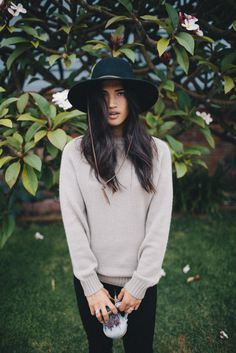 #Brixton Friday Feature | Rachel in the Tiller Hat and Emmon Sweater