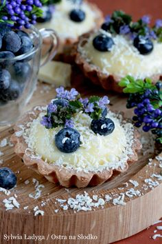 Camembert Cheese, Cake Recipes, Cheesecake, Good Food, Food And Drink, Pudding, Cupcakes, Sweets, Cookies
