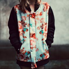 Jasmine Varsity Jacket// cool and casual:)