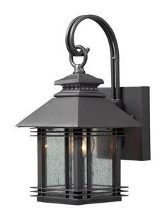 ELK Lighting Blackwell 1- Light Outdoor Sconce In Graphite - 42305/1