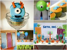 Little Big Company | The Blog #Monstersinc party by Sweet Tables by Chelle #Kids party #Monsterparty