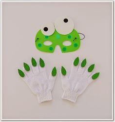 Manga por Hombro: Careta y guantes de monstruo.