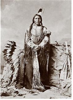 Chief Crazy Horse..A wise person.