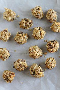 Peanut Butter Trail Mix Bites Recipe - Little Chef Big Appetite