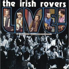 The Rovers, The Irish Rovers - Irish Rovers Live [Cd] Canada - Import Irish Rovers, Live Cd, Tower Records, Music Is Life, Celtic, Tv Series, Folk, Canada, Artist