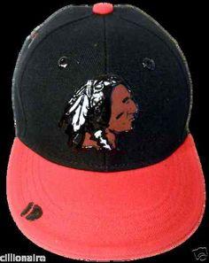 096b67cbd8b  30.00 REDSKINS BLACK AND RED SKINS FOOTBALL CAP HAT Football Caps