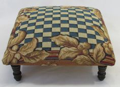 Corona Decor Co. Blue And Gold Living Room, Ottoman, French, Chair, Furniture, Home Decor, Corona, Decoration Home, French People