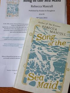 """The day SONG OF THE SEA MAID arrived at Gill Edwards' house (Book Magpie) """"What a very lovely surprise - thank you""""."""