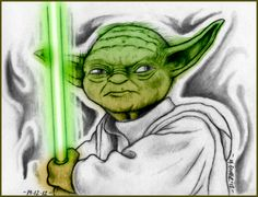 """Yoda"" Sketch-A-Day from 19-12-2012  © 2012 Mauricio Gomez"