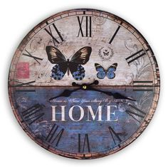 Free vintage clock face
