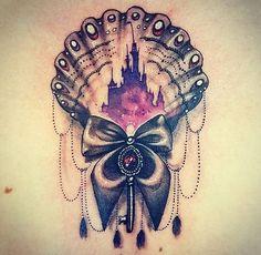 Love this gorgeous Disney tattoo!