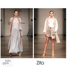 Telas para el aplauso:  Zito + Kalu Gryb #BAFWEEK #VCE http://blgs.co/apmi78
