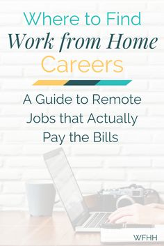 Online side hustles are great but what if you need something more than that? No problem! You can find real work from home careers -- ones that offer stability and actually pay the bills each month. Here's how.