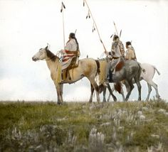 インディアン(ネイティブ・アメリカン)の貴重なカラー化写真 (7)