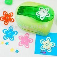 Envío gratis golpes scrapbooking cortador de la tarjeta de sacador del arte de papel flores paper talladora ponche perfurador de papel billetera S2922