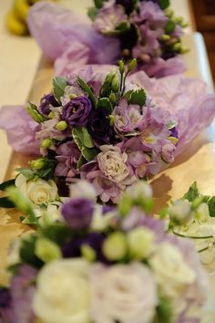 The LILY ROSE Cake Co.: Dean & Amy, A Purple Affair at The Chewton Glen.