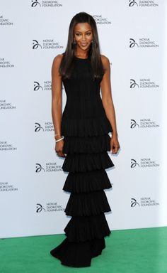 Naomi Campbell Goes All Out In Alaïa